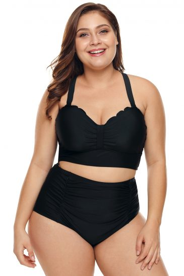 High Waist Bkini Swimsuit