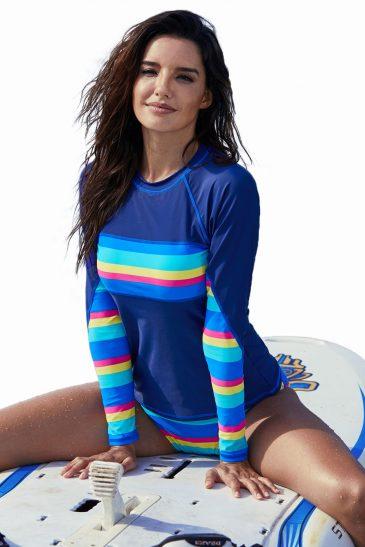 Long Sleeve Tankini Swimsuit