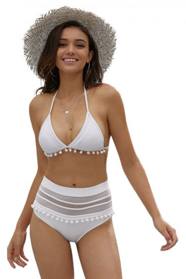 High Waist Bikini Swimsuit Swimwear