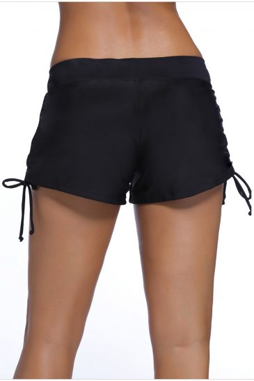 Ruched Side Swimsuit Bottom Swim Trunks