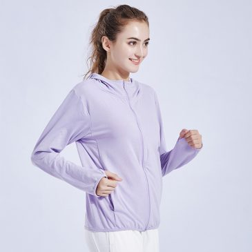 Zip-up Hoodies Sports Running Pullover Loose Tees