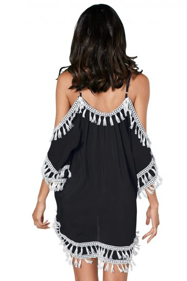 Boho Tassel Tunic Cover up