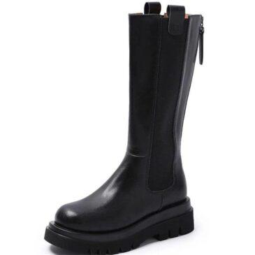 Nixon Leather Boots