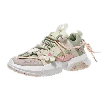 Pluto Floral Sneakers