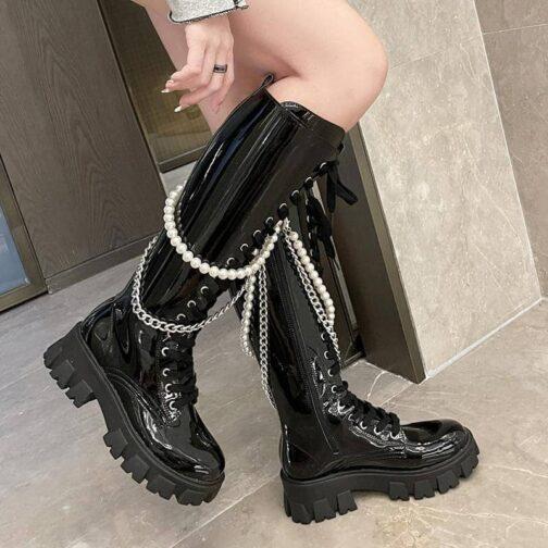 Bridgeton Lace Up Boots